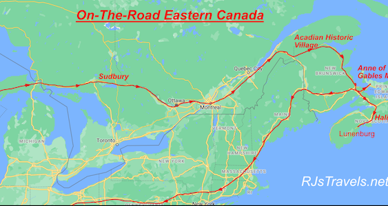 On-The-Road Canada: Day 1-3:  Sudbury, Would You Like Gravy WithThat?